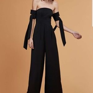 C/MEO Collective Off the Shoulder Jumpsuit